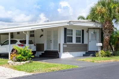 1260 Turkey Creek Drive UNIT 90, Palm Bay, FL 32905 - MLS#: 822404