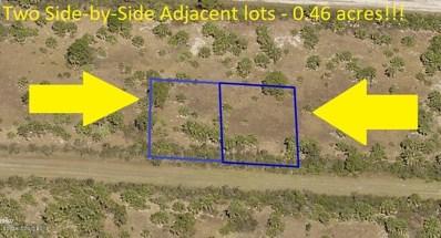 *Two Adjacent Lots* - Sunshine Street, Palm Bay, FL 32908 - MLS#: 822474