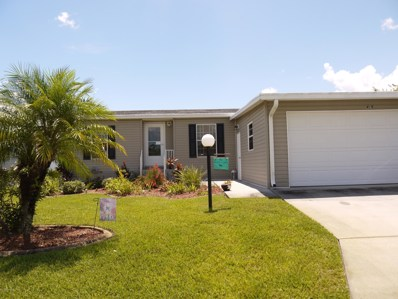 416 Horseshoe Bend Circle UNIT 194, Cocoa, FL 32926 - MLS#: 822610