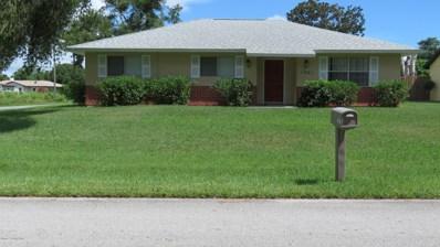1861 NE Barker Street, Palm Bay, FL 32907 - MLS#: 822993
