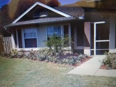 716 Fairhaven Street, Palm Bay, FL 32907 - MLS#: 823033