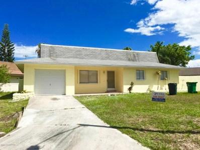 417 Via Palermo Court, Merritt Island, FL 32953 - MLS#: 823056