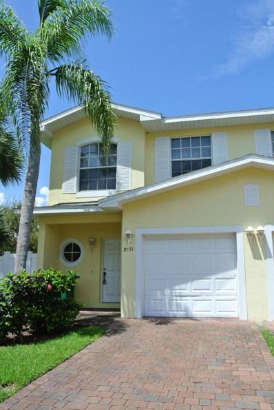 8591 Canaveral Boulevard, Cape Canaveral, FL 32920 - MLS#: 823147