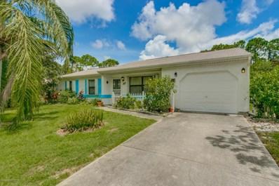 1275 NE Jade Lane, Palm Bay, FL 32907 - MLS#: 823167