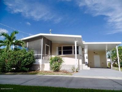 1675 Oceana Dr. Trailer #5, Merritt Island, FL 32952 - MLS#: 823409