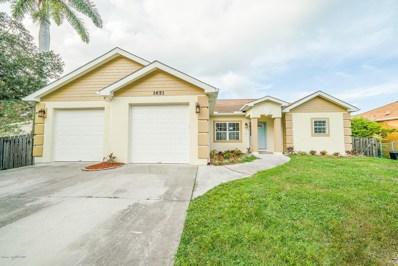 1651 Alpha Street, Palm Bay, FL 32907 - MLS#: 823486