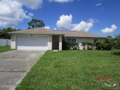 1206 Coral Reef Avenue, Palm Bay, FL 32907 - MLS#: 823611