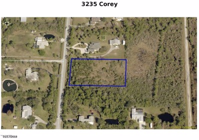 3235 Corey Road, Malabar, FL 32950 - MLS#: 824024