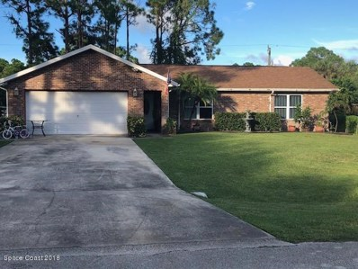 1833 Thomasville Avenue, Palm Bay, FL 32909 - MLS#: 824140