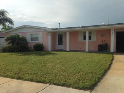 410 San Cristobal Court, Merritt Island, FL 32953 - MLS#: 824260