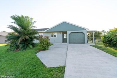 149 Abalone Road, Palm Bay, FL 32907 - MLS#: 824304