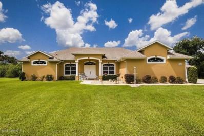 7524 Egret Drive, Titusville, FL 32780 - MLS#: 824399