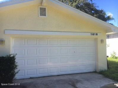 1616 Baker Street, Palm Bay, FL 32907 - MLS#: 824431