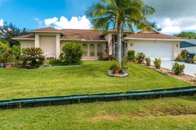1763 Parrsboro Street, Palm Bay, FL 32907 - MLS#: 824605