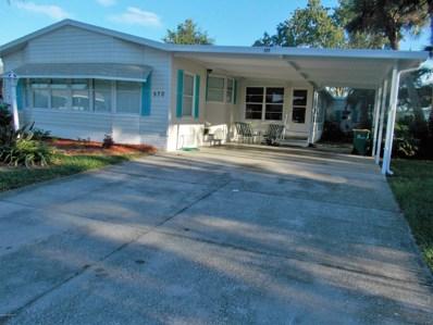 570 Dolphin Circle, Barefoot Bay, FL 32976 - MLS#: 824929