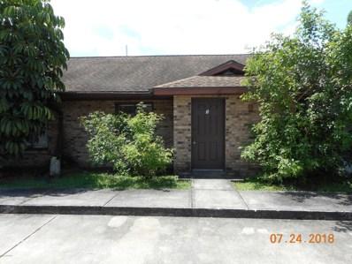 501 Thor Avenue UNIT Apt#3, Palm Bay, FL 32909 - MLS#: 824930