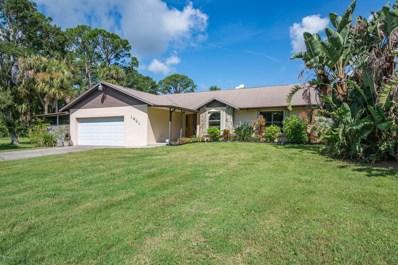 1801 Live Oak Drive, Rockledge, FL 32955 - MLS#: 825112