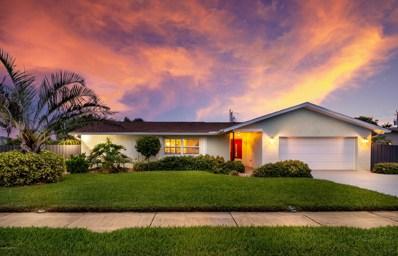640 Poinsetta Drive, Satellite Beach, FL 32937 - MLS#: 825196