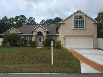 1698 Falk Terrace, Palm Bay, FL 32909 - MLS#: 825424