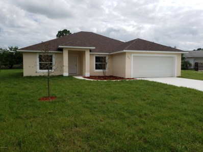214 Barbarossa Road, Palm Bay, FL 32907 - MLS#: 825562
