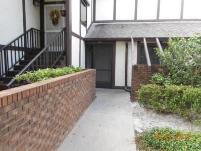 801 Greenwood Manor Circle UNIT 11, West Melbourne, FL 32904 - MLS#: 825882