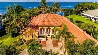 153 Hidden Cove Drive, Melbourne Beach, FL 32951 - MLS#: 825955