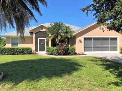 3888 15th Street, Micco, FL 32976 - MLS#: 826356