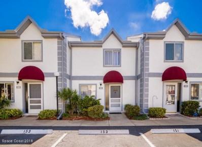 153 Seaport Boulevard UNIT 25, Cape Canaveral, FL 32920 - MLS#: 827114