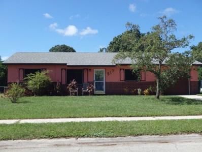 517 Edward Road, West Melbourne, FL 32904 - MLS#: 827748