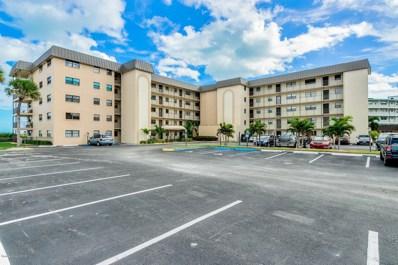 4100 Ocean Beach Boulevard UNIT 111, Cocoa Beach, FL 32931 - MLS#: 827836