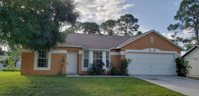 1180 Tiger Street, Palm Bay, FL 32909 - MLS#: 827854