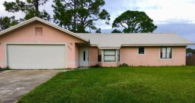 957 Banks Street, Palm Bay, FL 32907 - MLS#: 828157