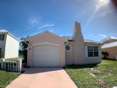 963 Wateroak Drive, Palm Bay, FL 32905 - MLS#: 828675