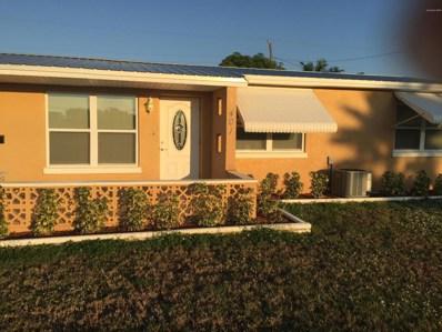 401 Sea Gull Drive, Satellite Beach, FL 32937 - MLS#: 829186