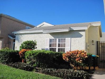 1495 Malibu Circle UNIT 103, Palm Bay, FL 32905 - MLS#: 829219