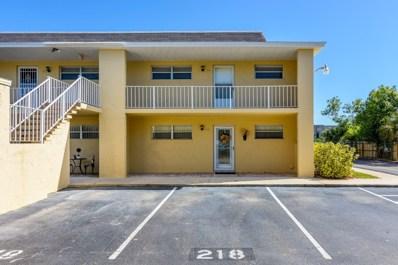 2135 N Courtenay Parkway UNIT 218 C, Merritt Island, FL 32953 - MLS#: 829358