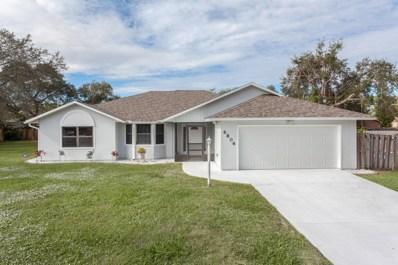 6806 Dodge Road, Cocoa, FL 32927 - MLS#: 829723