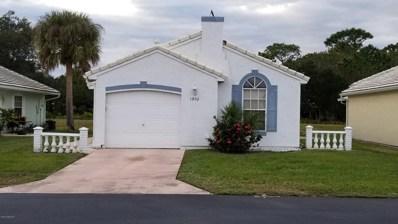 1902 Tallowood Court, Palm Bay, FL 32905 - MLS#: 830446