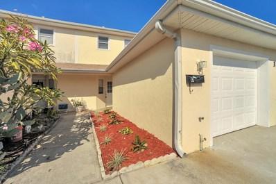 1020 Park Drive UNIT D, Indian Harbour Beach, FL 32937 - MLS#: 830725