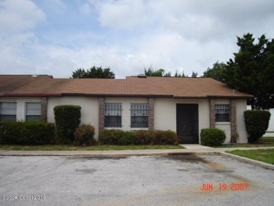 1514 Clearlake Road UNIT 60, Cocoa, FL 32922 - MLS#: 831165
