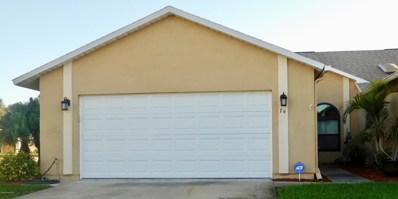 74 Anchor Drive, Indian Harbour Beach, FL 32937 - MLS#: 831428