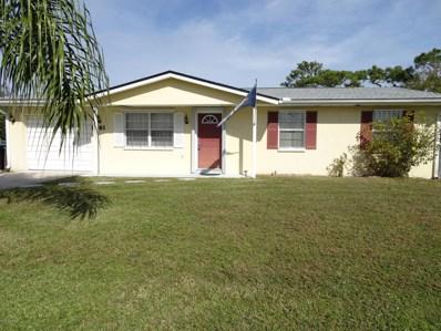 1961 Academy Street, Palm Bay, FL 32905 - MLS#: 831542