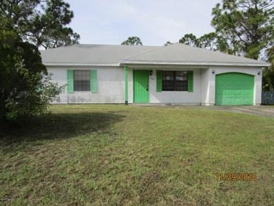 1077 San Rafael Road, Palm Bay, FL 32908 - MLS#: 831655
