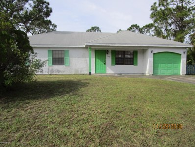 1077 San Rafael Road, Palm Bay, FL 32908 - #: 831655