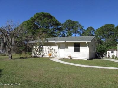 1011 Tetzel Street, Palm Bay, FL 32909 - MLS#: 834193