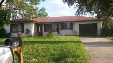1614 Paisley Street, Palm Bay, FL 32907 - MLS#: 834281