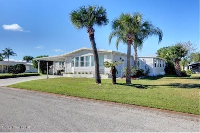 605 Periwinkle Circle, Barefoot Bay, FL 32976 - MLS#: 834289