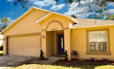 4303 Kenneth Court, Titusville, FL 32780 - MLS#: 835090