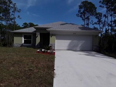 349 J T Sancho Street, Palm Bay, FL 32908 - MLS#: 839135