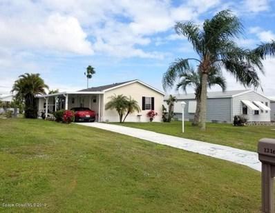 1216 Barefoot Circle, Barefoot Bay, FL 32976 - MLS#: 840167